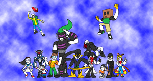 Dimension Wars- Meet the Crew by Thesimpleartist4