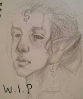 elf kid w.i.p by Eostet