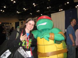 Raph and me by Raphs-Girl024