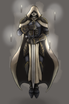 Undead Paladin by PaulYoder
