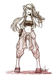 Name's Winry Rockbell, B+tches by YoukaiYume
