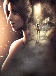 Rise of the Tomb Raider fan art by ElyGraphic