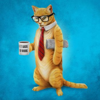 Business Cat by scumbugg