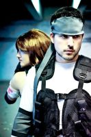 Solid Snake cosplay Japan Expo by James--C