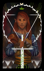 Inquisitor Ronan Lavellan by Shiro-mii