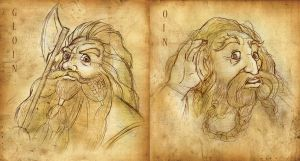 Oin and Gloin by RiverCreek