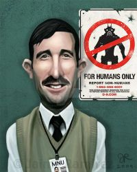 District 9 Caricature by SupermanBatman