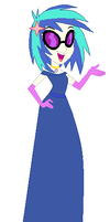 Eqg Vinyl Scratch's Prom Gown by unicornsmile