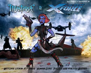 What If...? Mystique Joined the Uncanny X-Force! by njferns