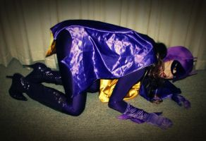 Batgirl Cosplay Photo Story Chapter 10- the Taunt! by ozbattlechick