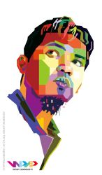 My Face in WPAP by viqh