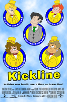Kickline - The Movie Poster by LoudNoises