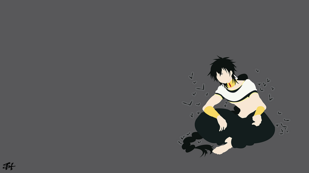 Judar (Magi) Minimalist Wallpaper by slezzy7