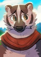 Badger by OrcaOwl