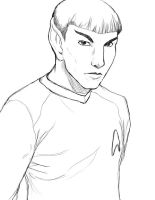 TOS Spock by iceicefangurl