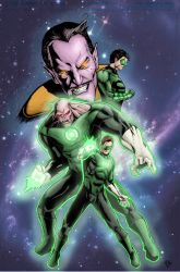 green lantern colors by GIO2286