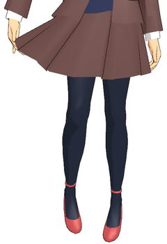 [MMD] Simple Brown Skirt DL by Tiny-face