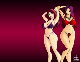 Krissy and Lana Wallpaper by Dustin-Eaton-Works