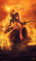 Xio The Ancient Flame by whatzitoya
