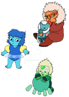 Classroom Gems Momswap: Baby Gems by UmbraFoxPaws