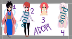 [adopt] 2/4 [open] by Hada-SKYHELL