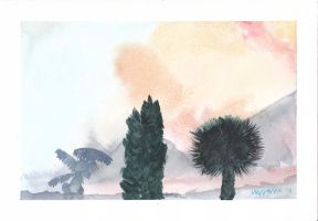 2nd Watercolor following book by Nandanyx