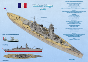 Light Battlecruiser Victor Hugo by SoloAD