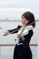girl with violin4 by xiaochi