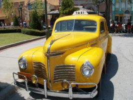 1940 Plymouth Taxi Cab II by L1701E