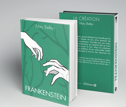 Hardcover-Frankenstein by Malchutash