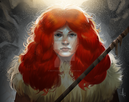 Ygritte Re-do by mattolsonart