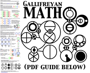 Gallifreyan Math by BlackHatGuy