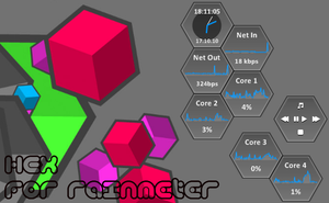 HEX for rainmeter PREVIEW by Arnie77