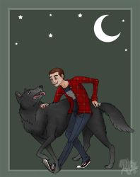 Moonlight Party :DerekxStiles: by Blue-Dragon22