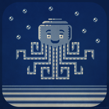 Stylized octopus character design by m7