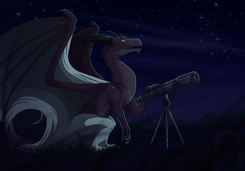 Look at the stars by Anais-thunder-pen