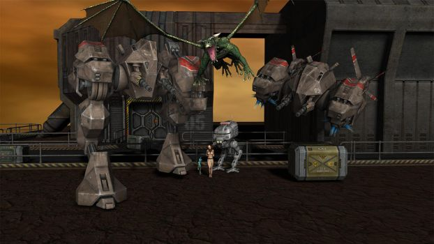 Mechs and Monsters 02.1.5 Cam 0 by RuneImp