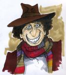 The Fourth Doctor by L-F-S