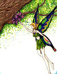 Fairy of the forest by TakenFlyght