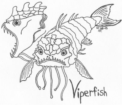 Alien species: Viperfish by Agent-Sarah