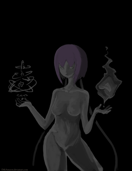 Grayscale Values Practice 1 by DrkAmazon
