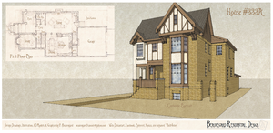 House333A Portrait and Plan by Built4ever