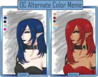 Omega Alternate Color Meme by blackangelyume
