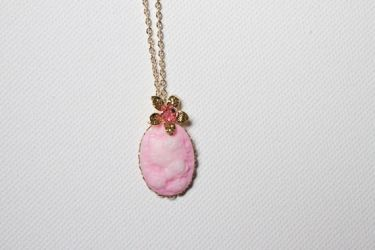Hello Kitty Pink Necklace by YourSweetTreat