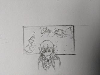 Nishimiya and the Koi by Naturevulpex