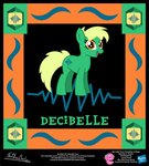 Decibelle OC Collectible Card by StryKariSPEEDER