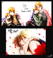 APH -- Gerita and Usuk by aphin123