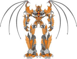 Unicron movie style vectorial by G1d4n