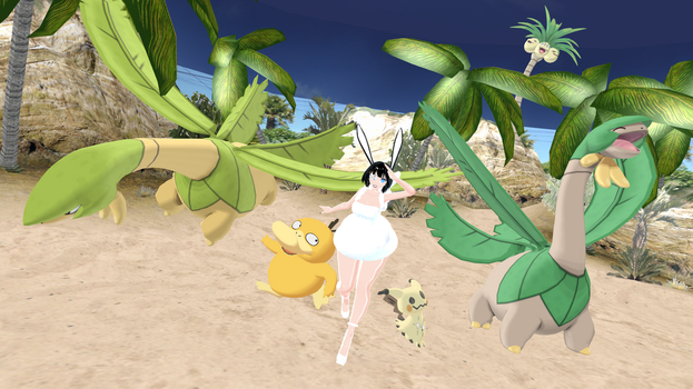 MMD - Tropius *DL* by Catty-Mintgum
