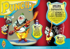 Punchy from Team Clown by concept-creature